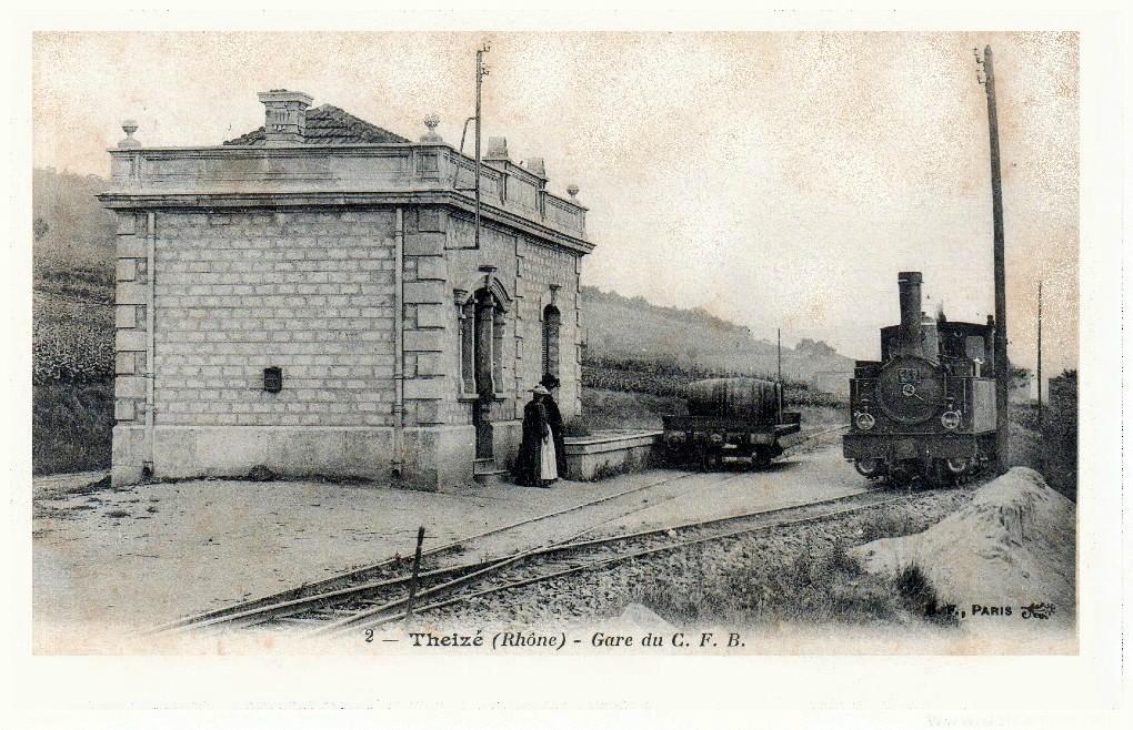 Gare de theize